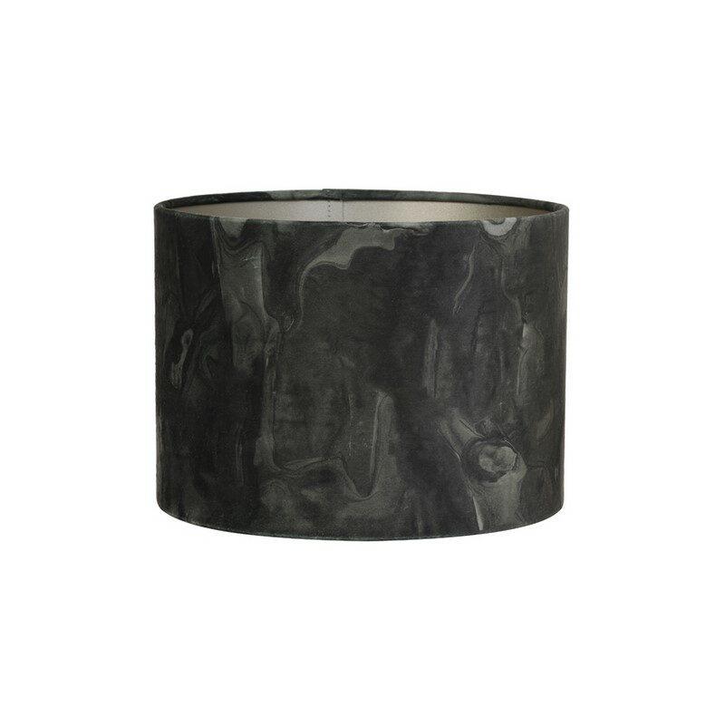 Abat-jour cylindre Marble vert foncé