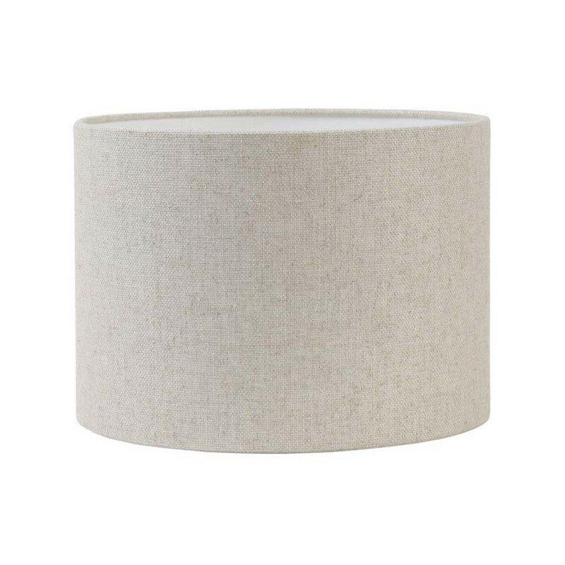 Abat-jour cylindre Livigno naturel