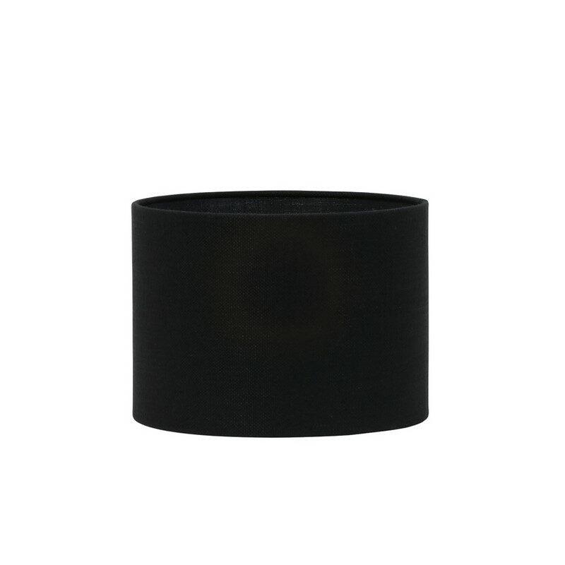Abat-jour cylindre Livigno noir