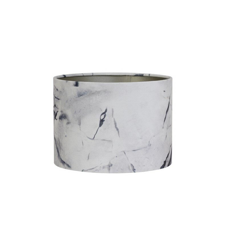 Abat-jour cylindre Marble gris