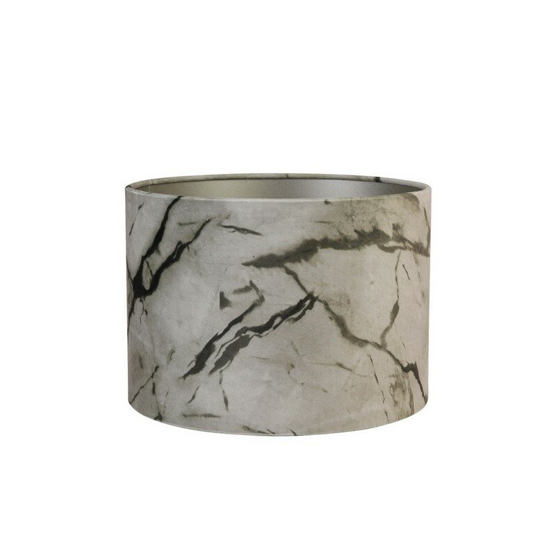 Abat-jour cylindre Marble sable