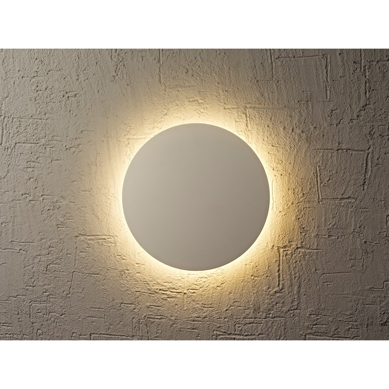 Applique Bora Bora LED blanche 18 cm
