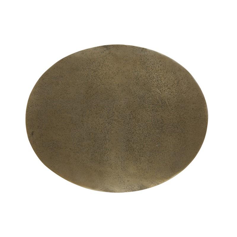 Bout de canapé Macau bronze antique