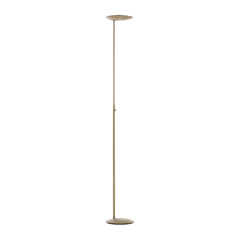 Lampadaire LED bronze Sione