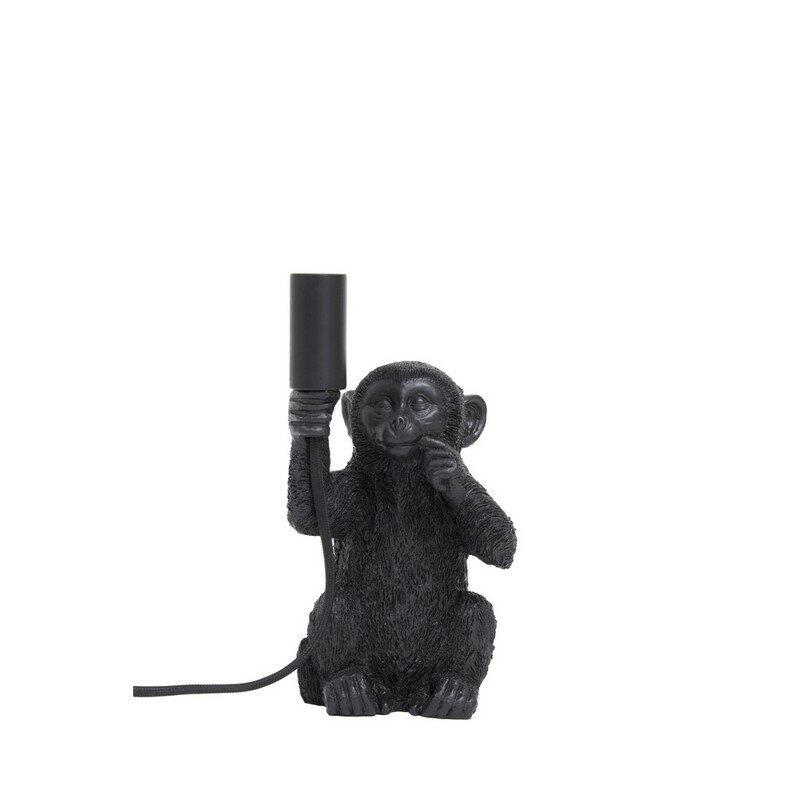 Lampe à poser Monkey noir mat