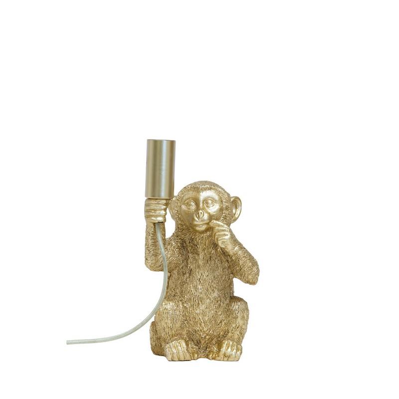 Lampe à poser Monkey or mat
