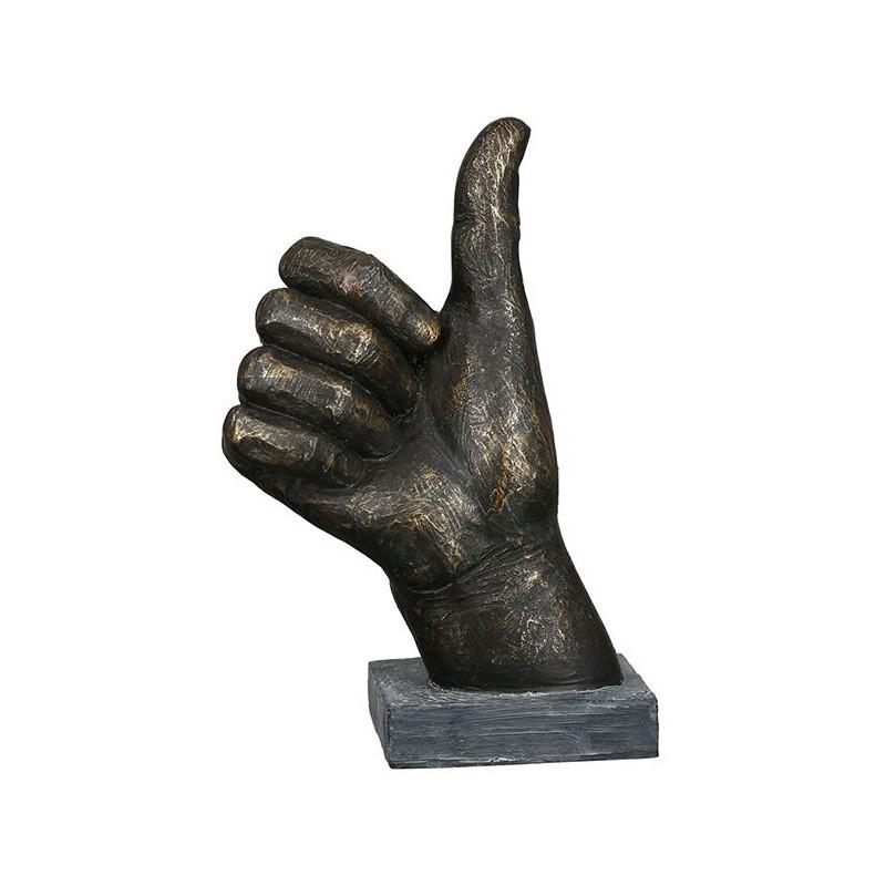 Sculpture Pouce bronze