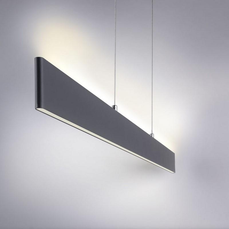 Suspension LED anthracite Nila