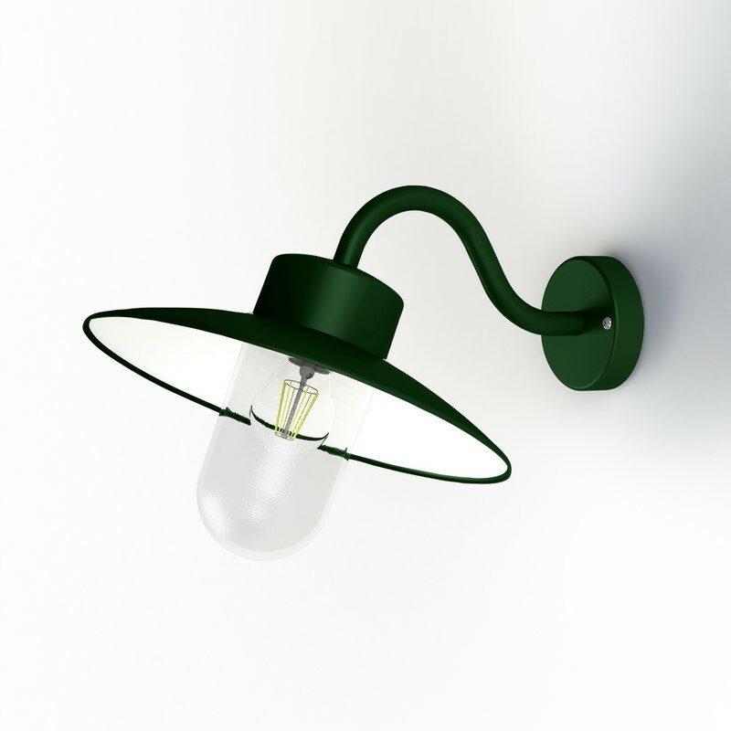 Applique extérieure Belcour 67° vert anglais vert clair