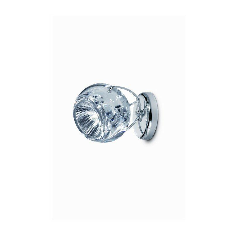 Applique 1 lumière transparent Beluga