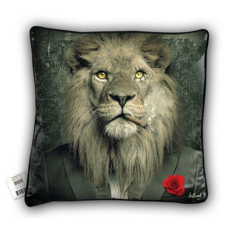Coussin Lion Mafia