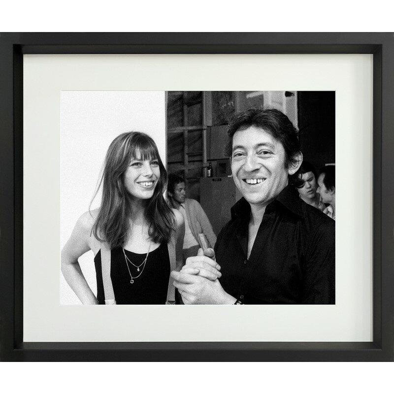 Tableau J. Birkin et S. Gainsbourg