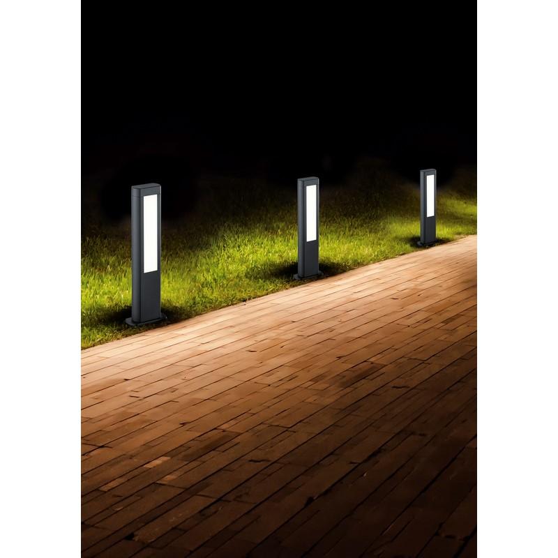 Borne LED anthracite Rhine