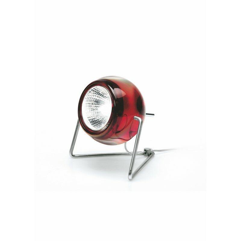 Lampe à poser Beluga rouge