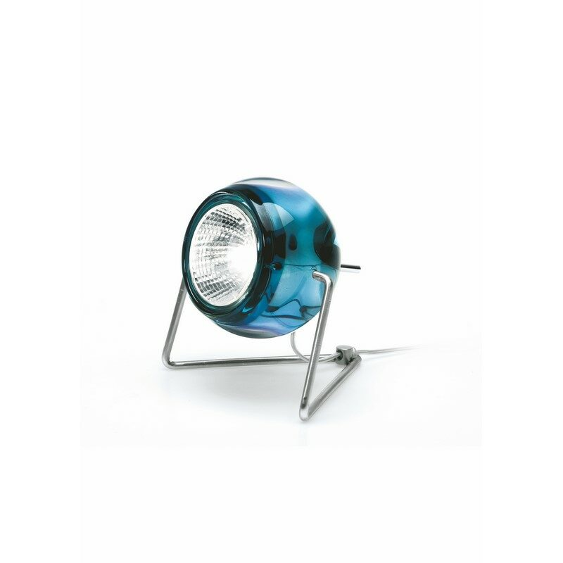 Lampe à poser Beluga bleu
