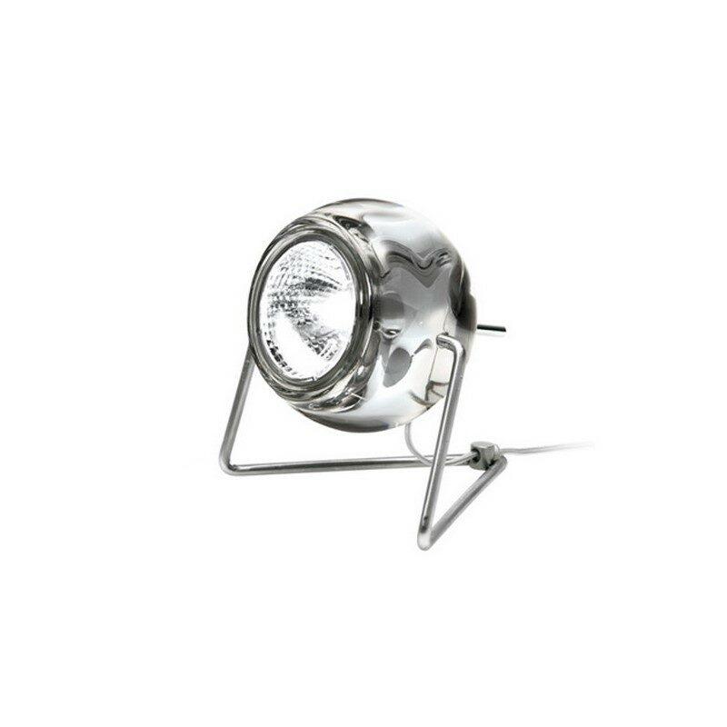 Lampe à poser Beluga transparente