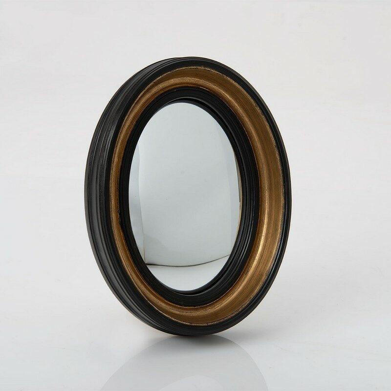 Miroir noir ovale Sorcière 30 cm