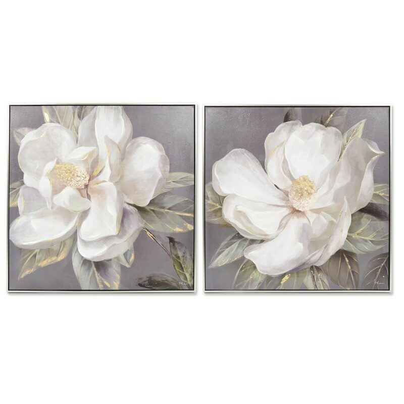 Tableau mural Fleur blanche