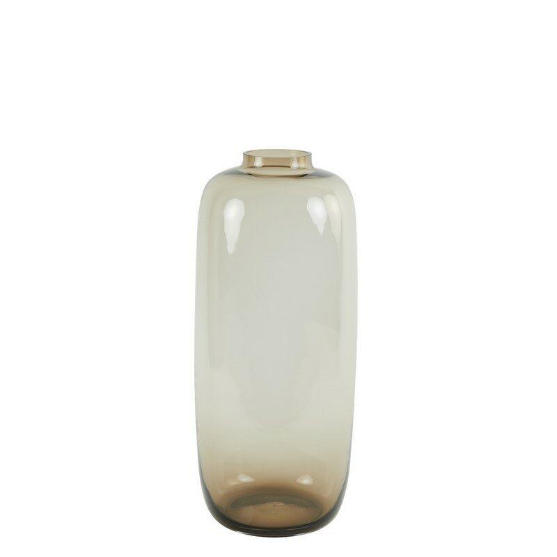 Vase verre brun Keira