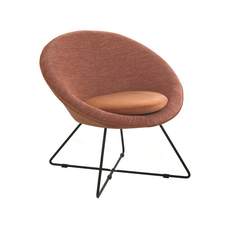 chaise relax garbo rose