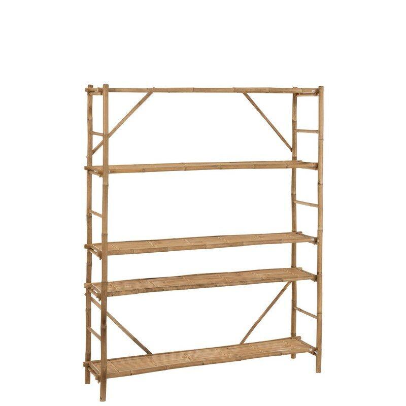 étagère bambou naturel