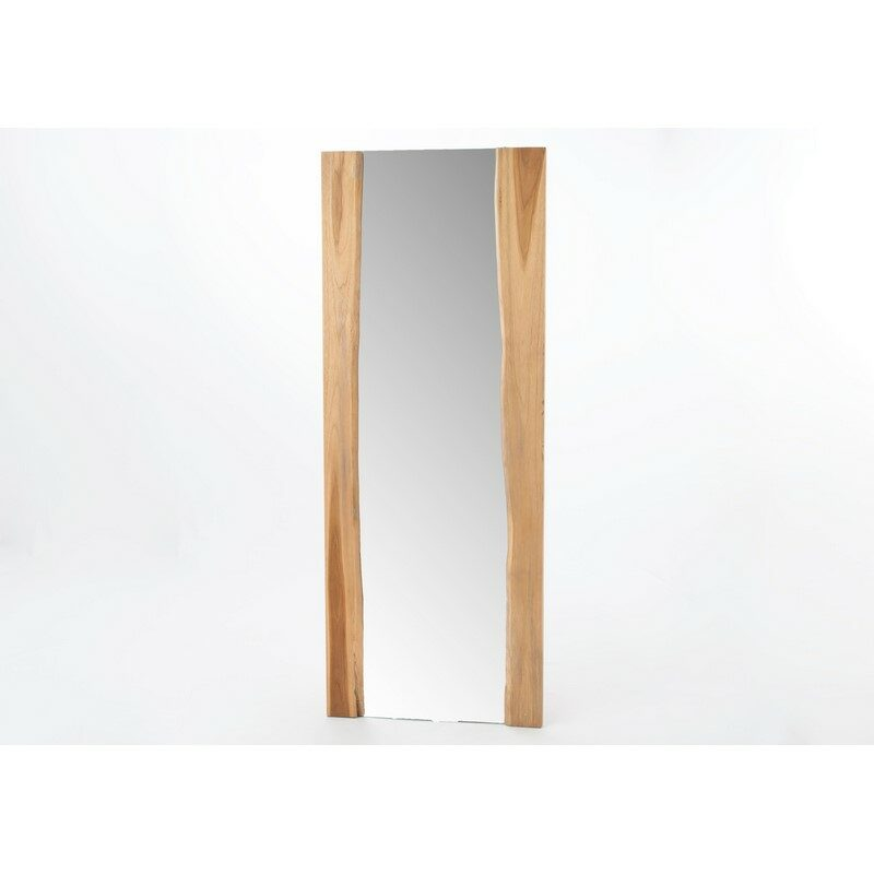 Miroir rectangulaire bois Racine