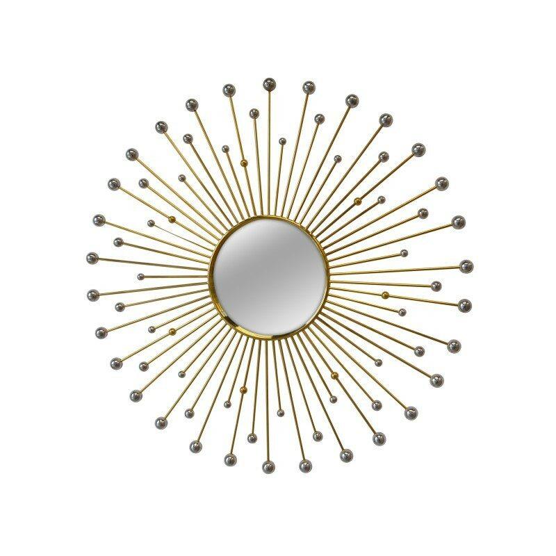 Miroir rond Sun 100 cm