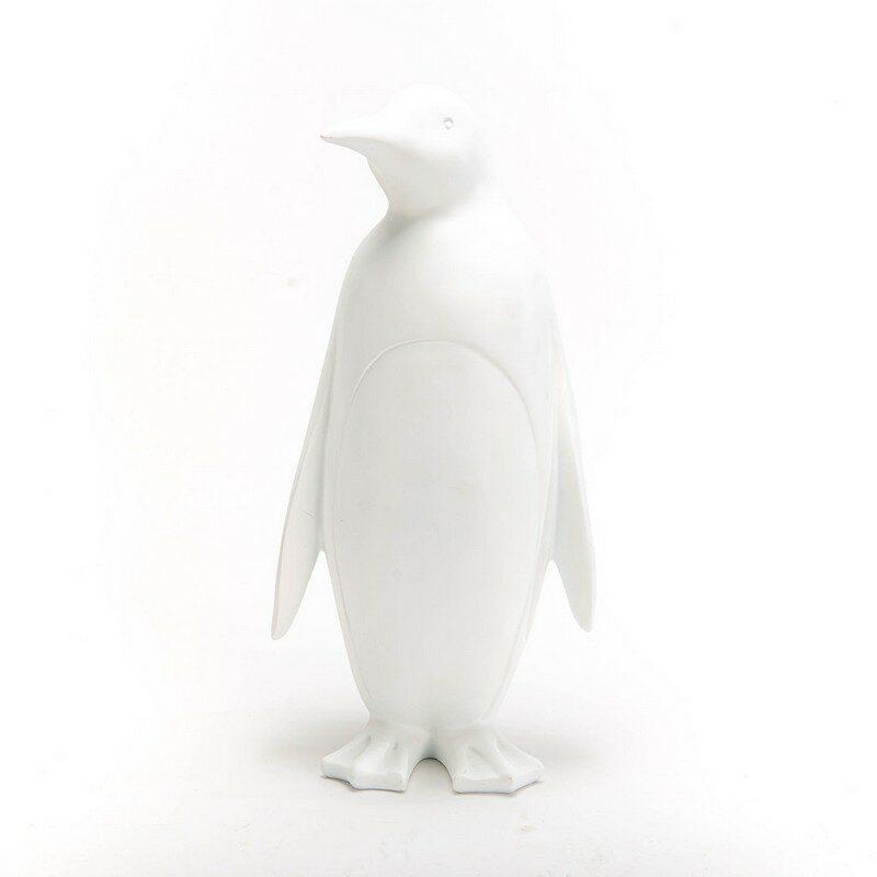 Pingouin blanc déco