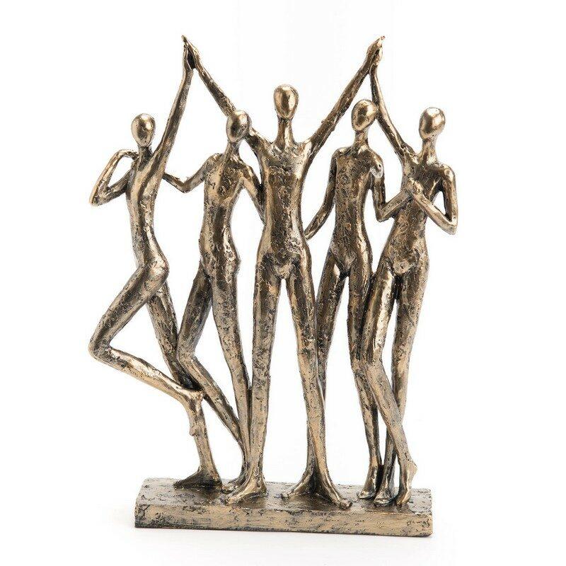 "Statue ""entre amis"""