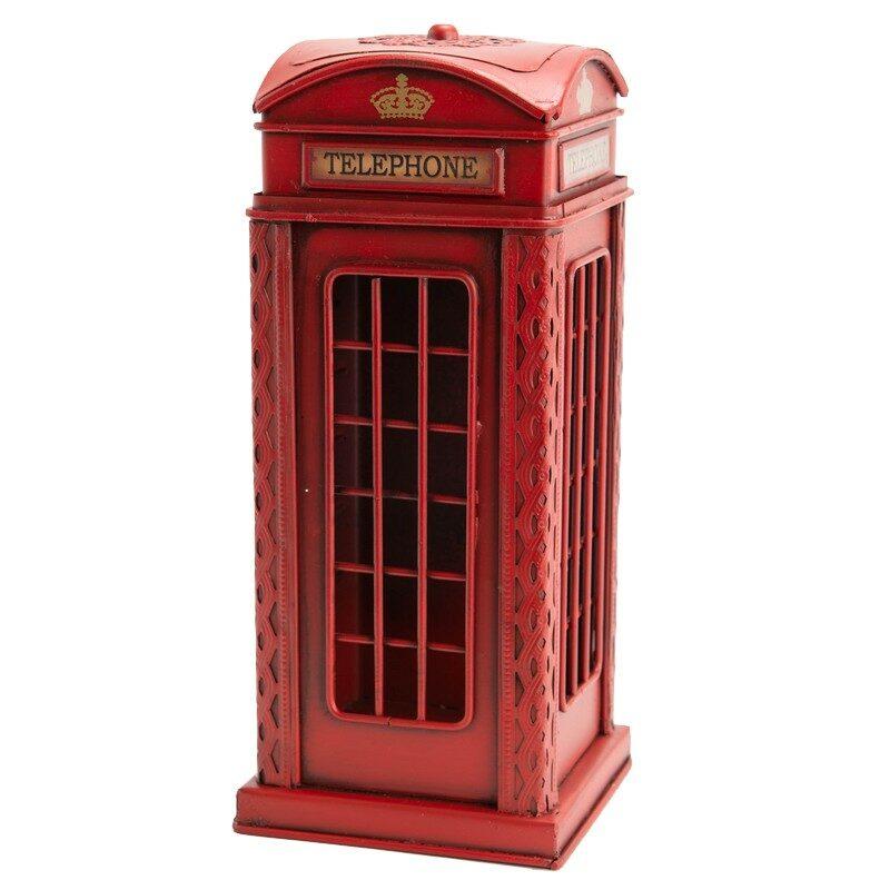 Tirelire cabine téléphonique anglaise