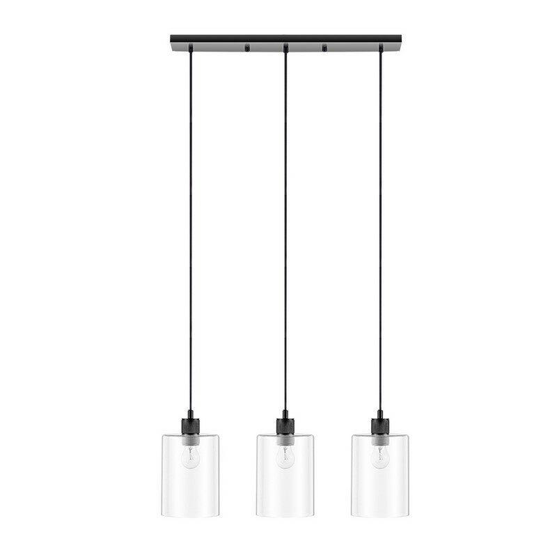 Suspension 3 lumières industriel
