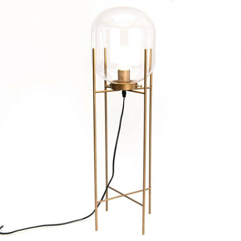 Lampe à poser Clea dorée 77cm