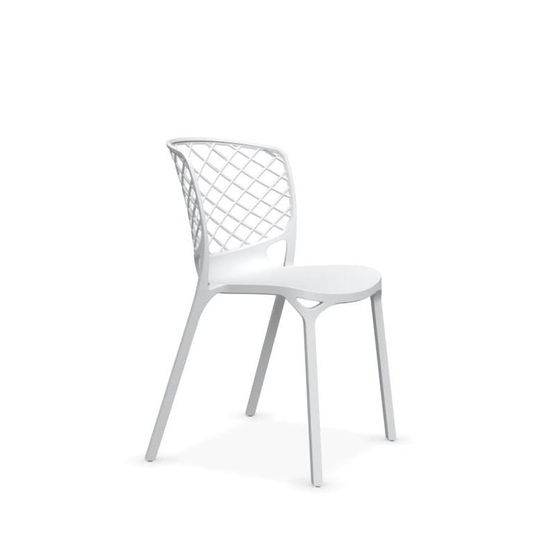 chaise GAMERA blanc opaque - CALLIGARIS