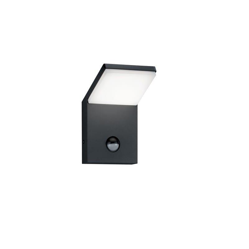 Applique extérieure PEARL anthracite avec detecteur LED - TRIO