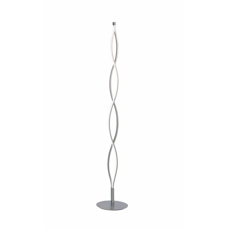 Lampadaire SAHARA aluminium/chrome LED dimmable - MANTRA