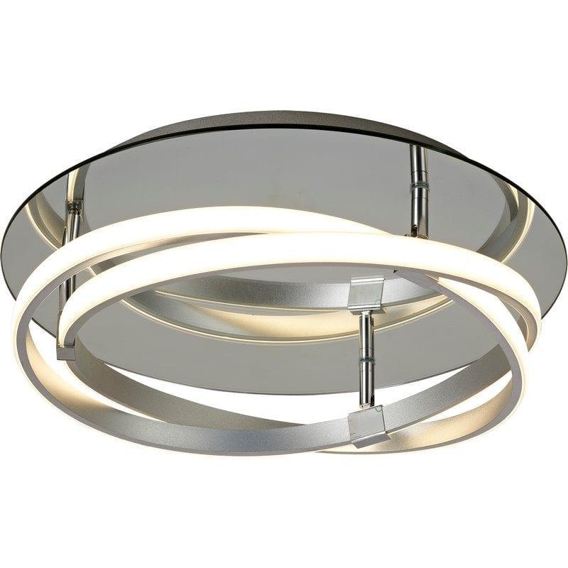 Plafonnier INFINITY chrome/aluminium LED - MANTRA