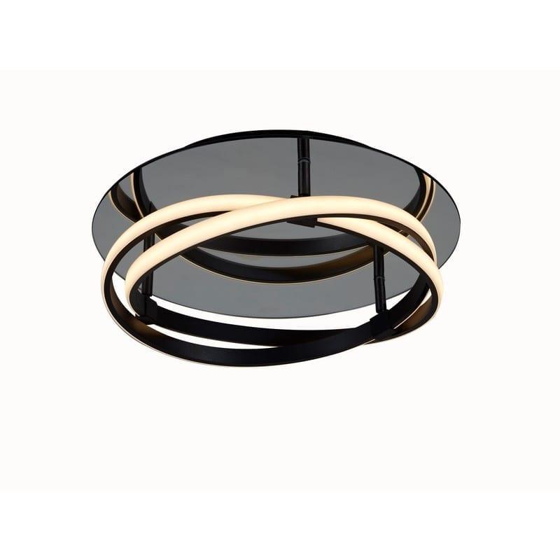 Plafonnier INFINITY marron foncé LED - MANTRA