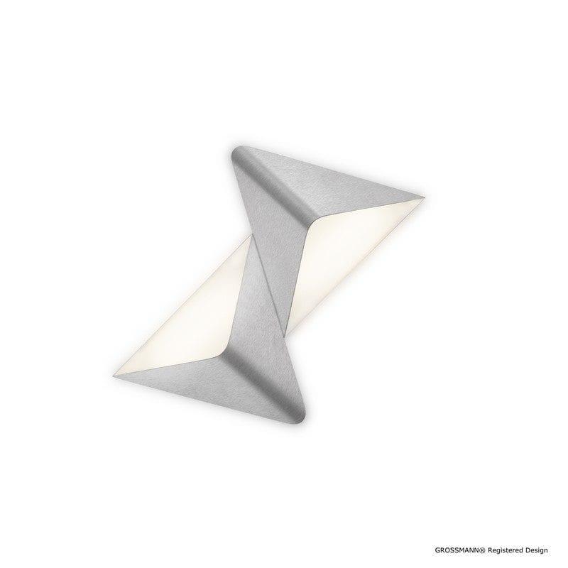 Applique/Plafonnier DELTA aluminium 2L 72-781-072 - GROSSMANN