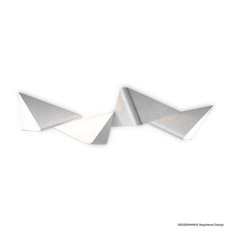 Plafonnier DELTA aluminium 4L 74-781-072 - GROSSMANN