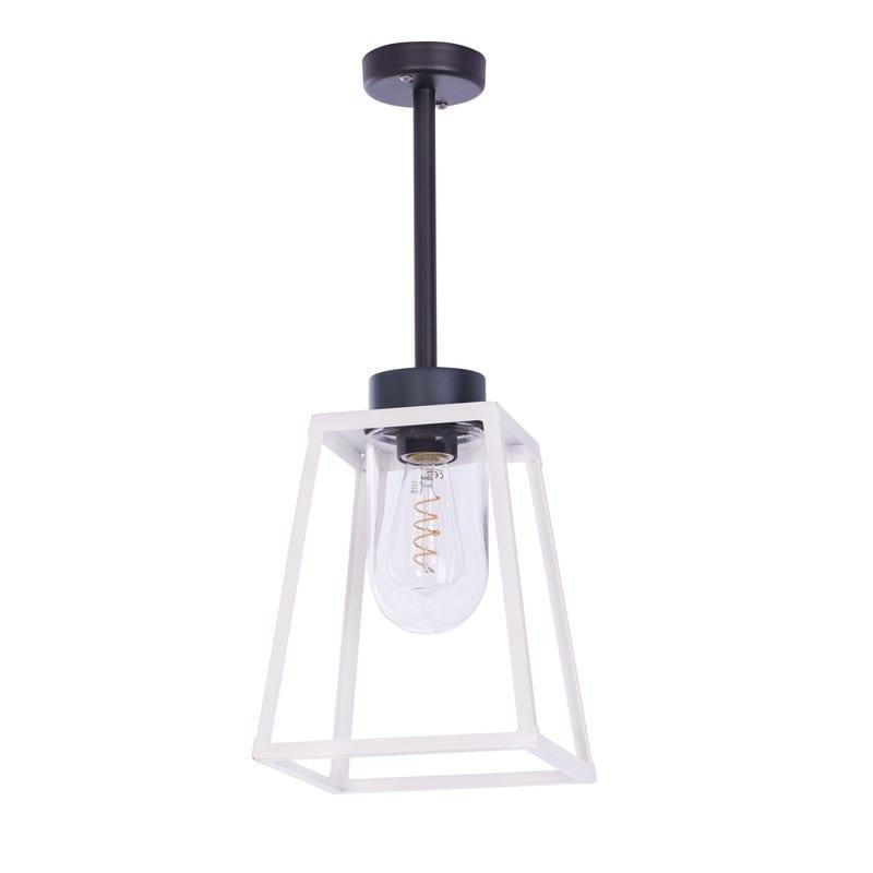 Plafonnier extérieur LAMPIOK gris/blanc LA203101 - ROGER PRADIER