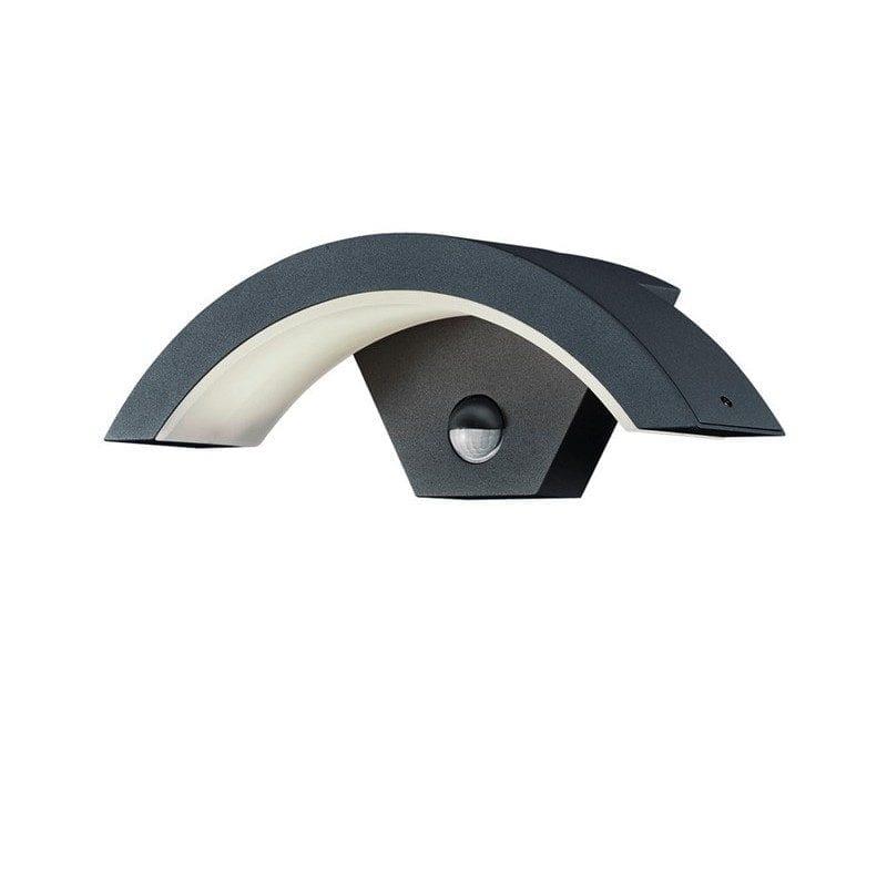 Applique extérieure OHIO gris anthracite avec détecteur - TRIO