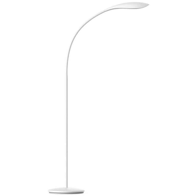 Lampadaire design LYON blanc LED
