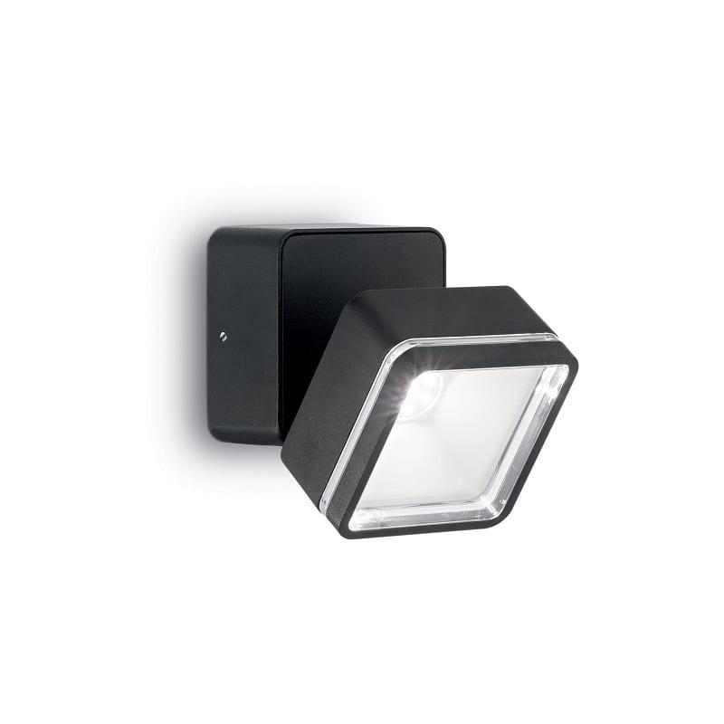 Applique-extérieure-noire-Oméga-IP54