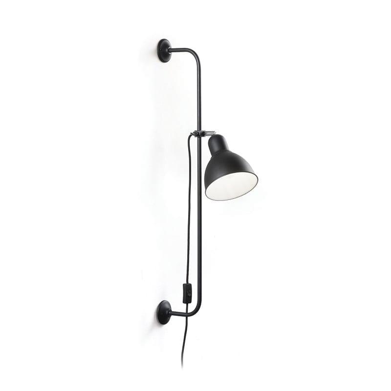 Applique-industrielle-noire-réglable-Shower