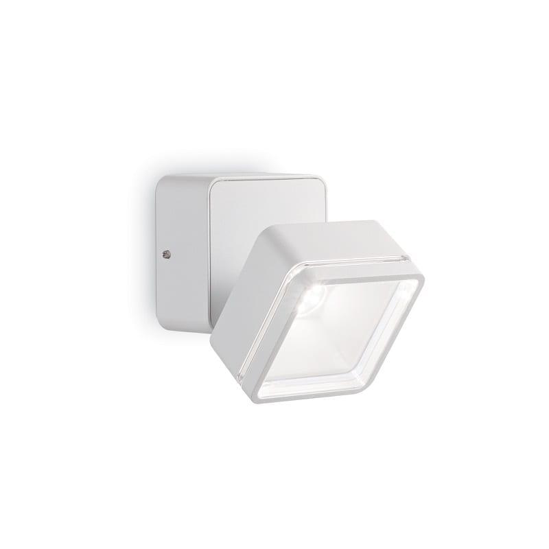 Spot-extérieur-blanc-en-aluminium-Oméga