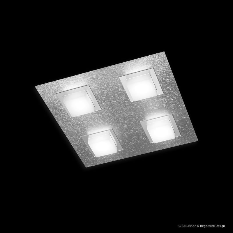 Applique Grossmann led aluminium Basic 4 lumières - 46504 - 74-790-019