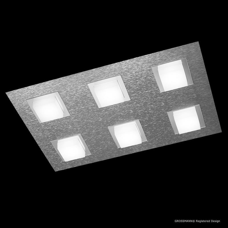 Applique Grossmann led aluminium Basic 6 lumières - 46505 - 76-790-072