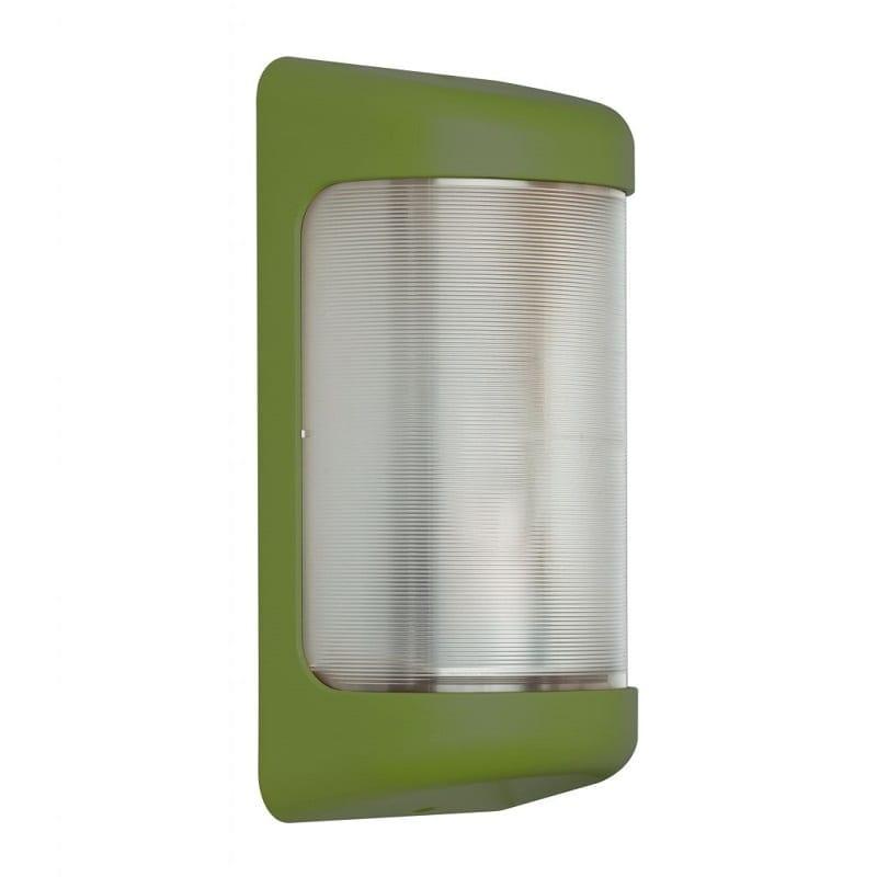 Applique extérieure contemporaine Loko vert fougère RAL6025 – Roger Pradier® - 132001109
