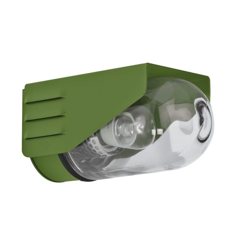 Applique extérieure design rp195 vert fougère RAL6025 verre clair – Roger Pradier® - 153001109