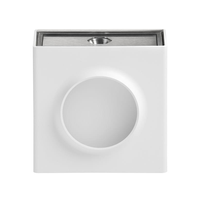 Applique extérieure led Klint version n°1 3300K blanc pur RAL 9010 - Roger Pradier® - 167001101